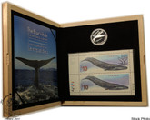 Canada: 2010 $10 The Blue Whale Coin and Stamp Set