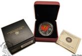 Canada: 2009 $20 Crystal Raindrop Autumn Showers Silver Coin