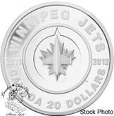 Canada: 2011 $20 Winnipeg Jets Silver Coin