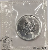 Canada: 1996 $5 1 oz Silver Maple Sealed KEY DATE