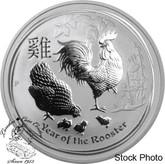 Australia: 2017 $30 Lunar Rooster Kilogram Silver Coin