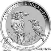 Australia: 2017 $1 Kookaburra 1oz Silver Coin