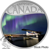 Canada: 2017 $10 Celebrating Canada Float Planes on the Mackenzie River Silver Coin