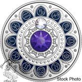 Canada: 2017 $3 Zodiac Aquarius Silver Coin