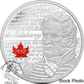 Canada: 2012 $4 de Salaberry Pure Silver Coin