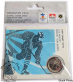 Canada: 2007 25 Cent Vancouver Olympics Hockey Sport Card with Coin