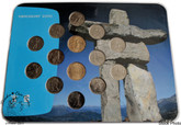 Canada: 2010 Vancouver Olympic and Paralympic Winter Games Inukshuk Coin Collection