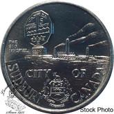 Canada: Sudbury Laurentian University Aluminum Medallion