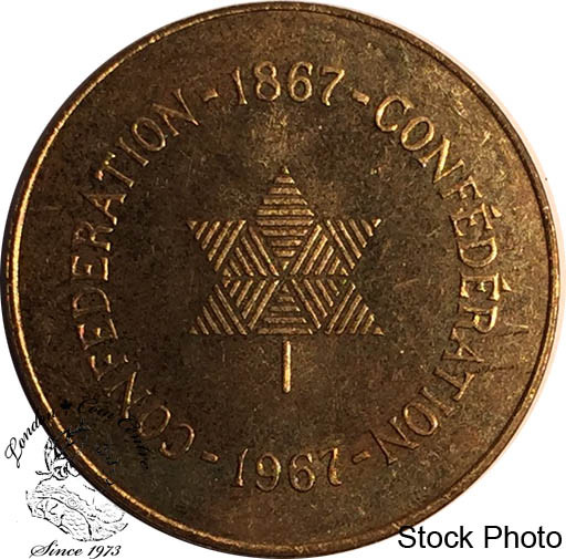 Canada 1867 To 1967 Confederation Medallion London Coin