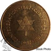 Canada: 1867 to 1967 Confederation Medallion