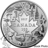 Canada: 2017 $3 Heart of a Nation Silver Coin