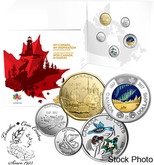 Canada: 2017 My Canada, My Inspiration Collector Card Uncirculated Coin Set