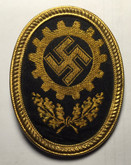 Germany: Labour Front Cap Badge
