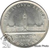 Canada: 1939 $1 Dollar MS63