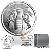 Canada: 2017 25 Cent 125th Anniversary of the Stanley Cup Special Wrap Roll (40 coins)