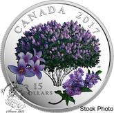 Canada: 2017 $15 Celebration of Spring: Lilac Blossoms