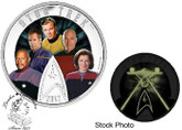 Canada: 2017 $30 Star Trek Five Captains Silver Coin