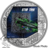 Canada: 2017 $20 Star Trek The Borg Silver Coin