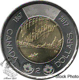 Canada: 2017 $2 Dance BU Coin