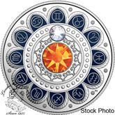 Canada: 2017 $3 Zodiac Gemini Silver Coin