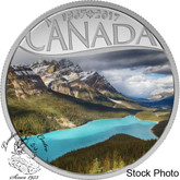 Canada: 2017 $10 Celebrating Canada's 150th -Peyto Lake Silver Coin