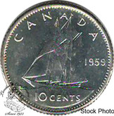 Canada: 1959 10 Cent Proof Like