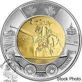 Canada: 2016 $2 Battle of the Atlantic BU Coin