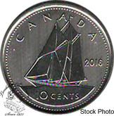 Canada: 2016 10 Cent Specimen