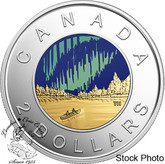 Canada: 2017 $2 Dance Coloured Proof Coin