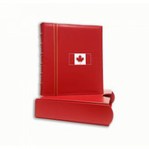 Canada: Classic Grande Set 3-RING Binder RED