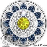 Canada: 2017 $3 Zodiac Series: Leo Silver Coin