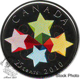 Canada: 2010 25 Cent Congratulations Proof Like