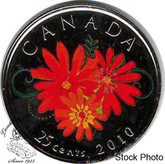 Canada: 2010 25 Cent Thank You Proof Like