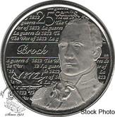 Canada: 2013 25 Cent Brock BU