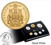 Canada: 2017 Commemorative Pure Silver 7-Coin Proof Set - 1967 Centennial Coins