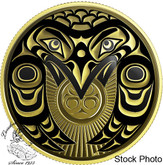Canada: 2017 $100 Raven Brings the Light - 14k Gold Coin