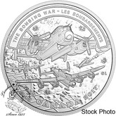 Canada: 2017 $20 Second World War Battlefront Series: The Bombing War - Pure Silver Coin