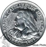 Canada: 1643-1687 Aluminum Robert Cavelier De La Salle Token
