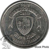 Canada: 1953-1982 Kitchener-Waterloo Oktoberfest Alpen Klub Trade Dollar