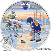 Canada: 2018 $10 Learning to Play: Edmonton Oilers® Silver Coin
