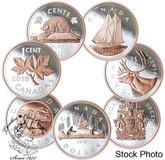 Canada: 2018 Big Coin Series 5 oz Silver Coin - 7 Coin Subscription