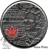 Canada: 2013 25 Cent Salaberry Coloured BU