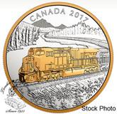 Canada: 2017 $20 Locomotives Across Canada: GE ES44AC Silver Coin