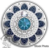 Canada: 2017 $3 Zodiac Scorpio Silver Coin