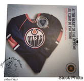 Canada: 2009 Edmonton Oilers NHL Coin Set With $1 Coloured Jersey Coin