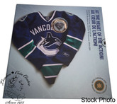 Canada: 2009 Vancouver Canucks NHL Coin Set With $1 Coloured Jersey Coin