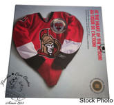 Canada: 2009 Ottawa Senators NHL Coin Set With $1 Coloured Jersey Coin
