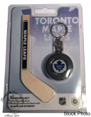 Canada: 2009 Toronto Maple Leafs $1 Mini Puck and Mini Stick