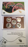United States: 2015 America The Beautiful Proof Coin Set