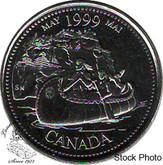 Canada: 1999 25 Cents May BU